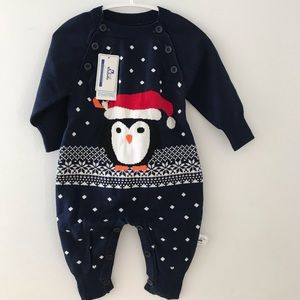 Other - BNWT Christmas toddler rompers long sweaters
